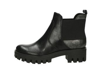 Tamaris dámske pohodlné kotníky - čierne