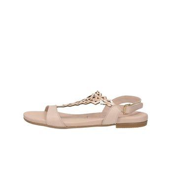 Tamaris dámske pohodlné sandále - ružové