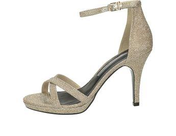 Tamaris dámske sandále - strieborné