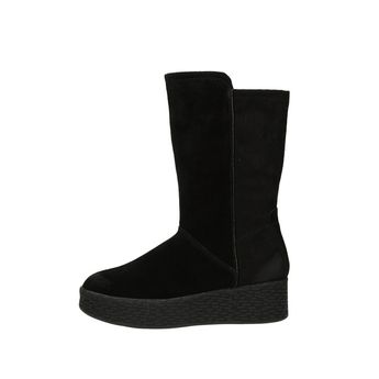 Tamaris dámske zateplené čižmy - čierne