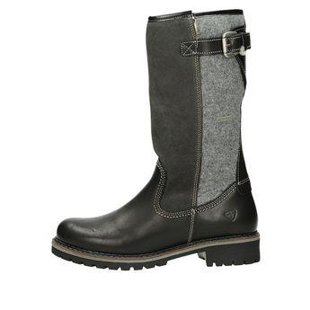 Tamaris dámske zimné čižmy - čierne