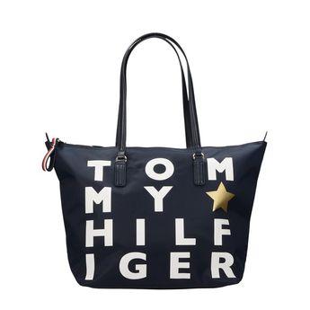 Tommy Hilfiger dámska objemná kabelka - modrá