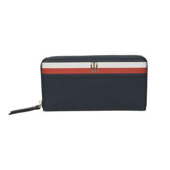 Tommy Hilfiger dámska štylová kožená peňaženka - modrá