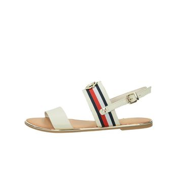 Tommy Hilfiger dámske štýlové sandále - biele