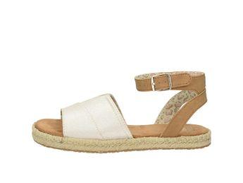 Toms dámske pohodlné sandále - béžovohnedé