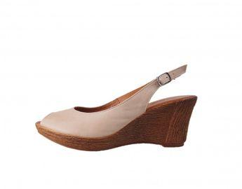 Acord dámske sandále - béžové