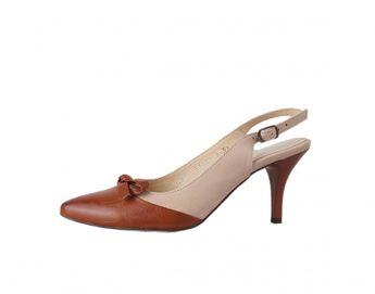 Acord dámske sandále - béžovohnedé