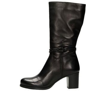 Acord dámske kožené nízke čižmy - čierne 09be3eff912