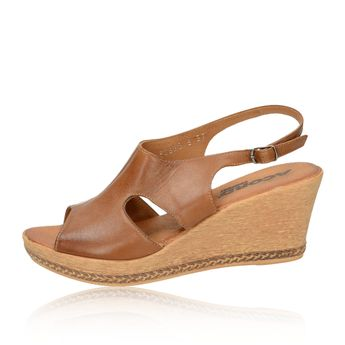 Acord dámske sandále - hnedé
