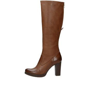 Acord dámske vysoké čižmy - hnedé