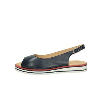 3843869417 Ara dámske kožené sandále - tmavomodré Ara dámske kožené sandále -  tmavomodré