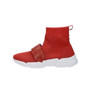 25eba563ded4 Bugatti dámske pohodlné ponožkové tenisky - červené