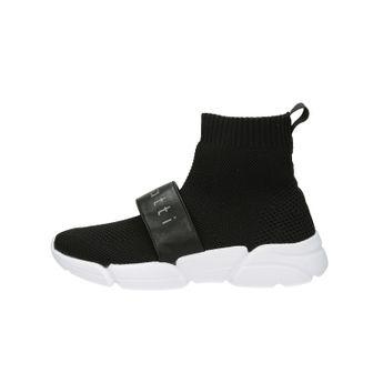 Bugatti dámske pohodlné ponožkové tenisky - čierne