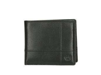 9c26c9d2af Bugatti pánska kožená peňaženka - čierna Bugatti pánska kožená peňaženka -  čierna