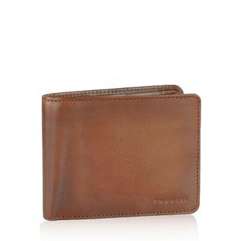 Pánska kožená peňaženka - hnedá