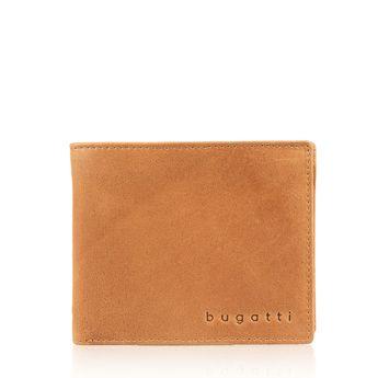Bugatti pánska kožená peňaženka - koňaková