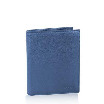 Pánska kožená peňaženka - modrá
