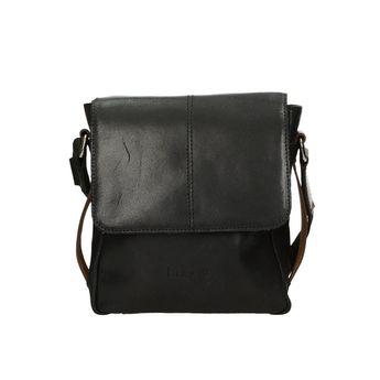 Bugatti pánska kožená taška - čierna