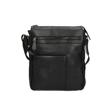 Bugatti pánska praktická kabelka - čierna