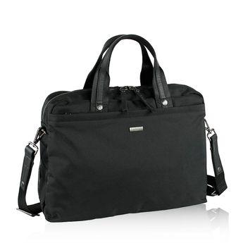 Bugatti pánska praktická laptopová taška - čierna