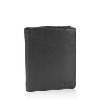 Pánska štýlová peňaženka - čierna