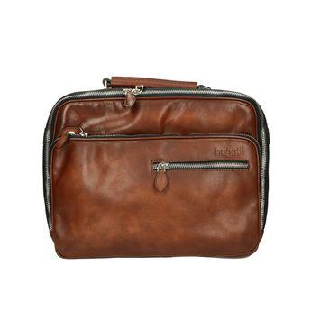 Bugatti pánska taška - hnedá
