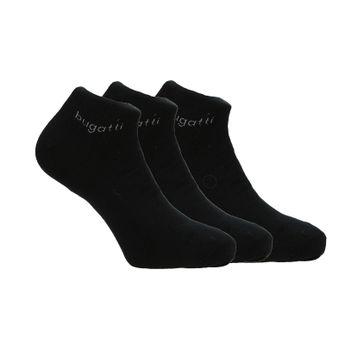 Bugatti pánske členkové ponožky - jednofarebné