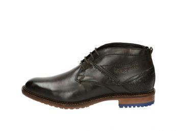 Bugatti pánske zateplené topánky - hnedé