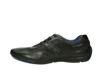 Bugatti pánske kožené sneakery - čierne