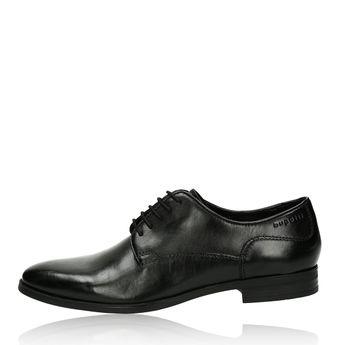 Bugatti pánske kožené spoločenské topánky - čierné
