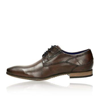 506df188bb18 Bugatti pánske kožené spoločenské topánky - hnedé Bugatti pánske kožené  spoločenské ...