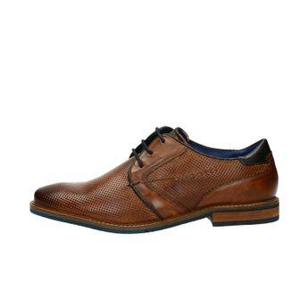 706672b1fe22 Bugatti pánske kožené spoločenské topánky - koňakové