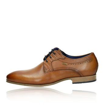 544900835c6 Bugatti pánske kožené spoločenské topánky - koňakové