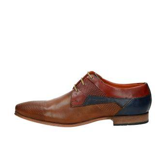 Bugatti pánske kožené spoločenské topánky - viacfarebné