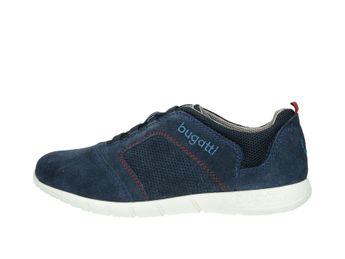 Bugatti pánske semišové tenisky - modré