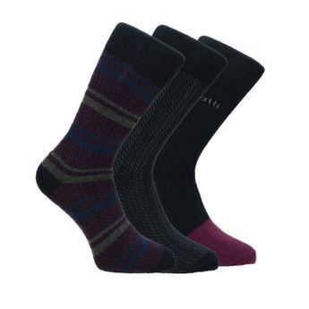 Bugatti pánske štýlové ponožky - viacfarebné
