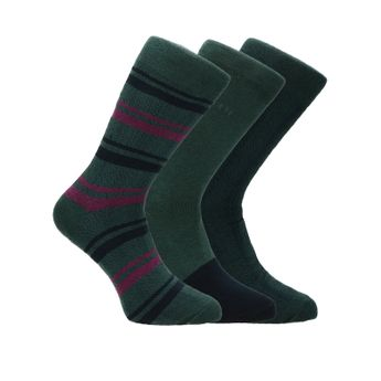 Bugatti pánske štýlové ponožky - zelené