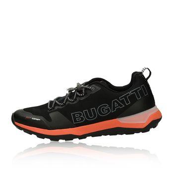 Bugatti pánske štýlové tenisky - čierne