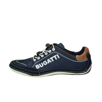 Bugatti pánske štýlové tenisky - tmavomodré