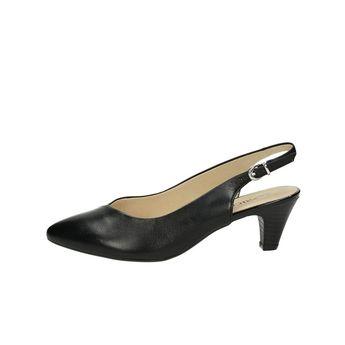 08c086150a29 Caprice dámske kožené sandále - čierne