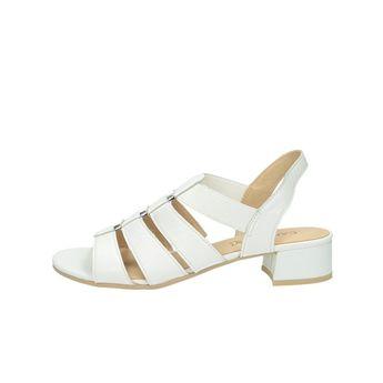 77c56b586 Caprice dámske kožené sandále - biele