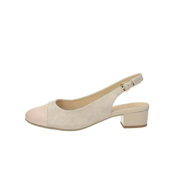 fbe1df20ebf3 Caprice dámske kožené sandále - ružové