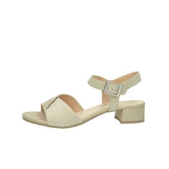 147f4c25d Caprice dámske kožené sandále s remienkom - béžové