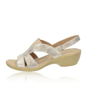 c4dd31702 Caprice dámske štýlové sandále - ružové