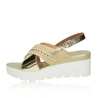 ba3ec5dc8b Cerutti dámske elegantné sandále - zlaté