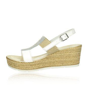 Cerutti dámske sandále - biele