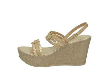 Cerutti dámske sandále - zlatohnedé
