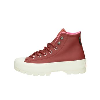 Converse dámske kožené štýlové kotníky - červené