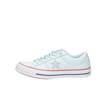 Converse dámske kožené tenisky - modré 1c906833421