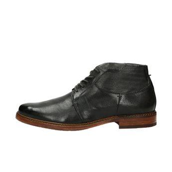 Daniel Hechter pánska zateplená členková obuv - čierna